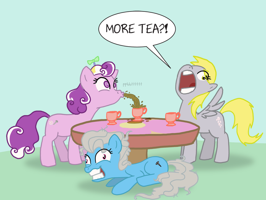 Tea Party by professor-ponyarity