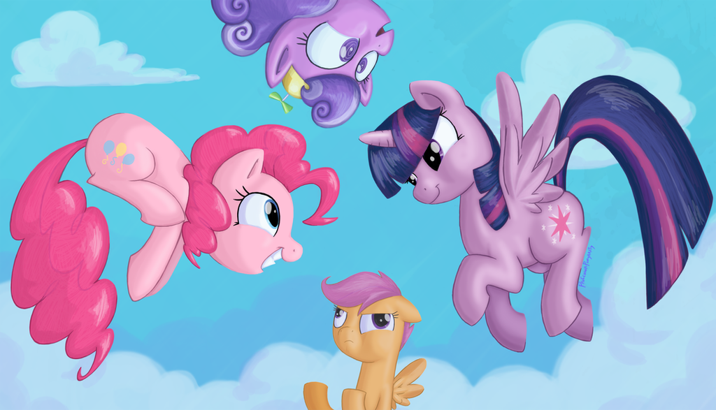 Everypony Can Fly by professor-ponyarity