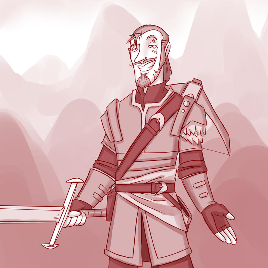 Dashing Rogue (Progression) by professor-ponyarity