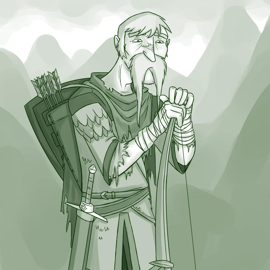 Old Warrior by professor-ponyarity