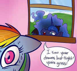 Luna Says Ew