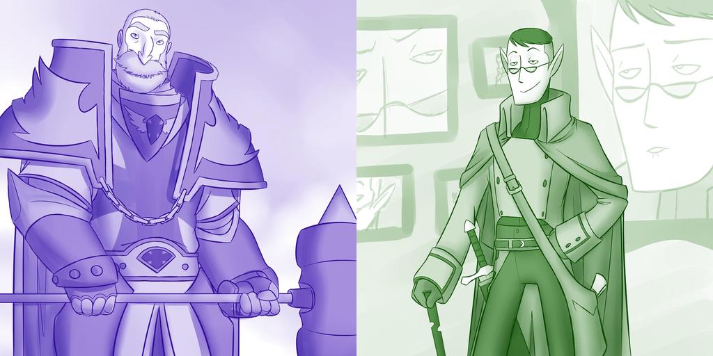 Aristocratic Adventurers by professor-ponyarity
