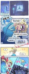 Frozen Comic By Gashi Gashi Korean translation by cokass