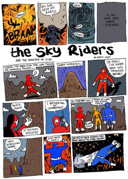 The Sky Riders, Page1