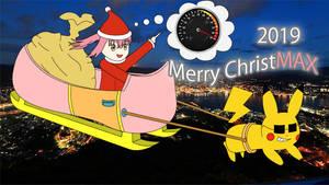 Merry Christmas 2019 - Sakuragi Miria fanart