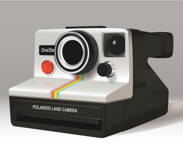 Old School Polaroid Land Camera by psw8387 on DeviantArt