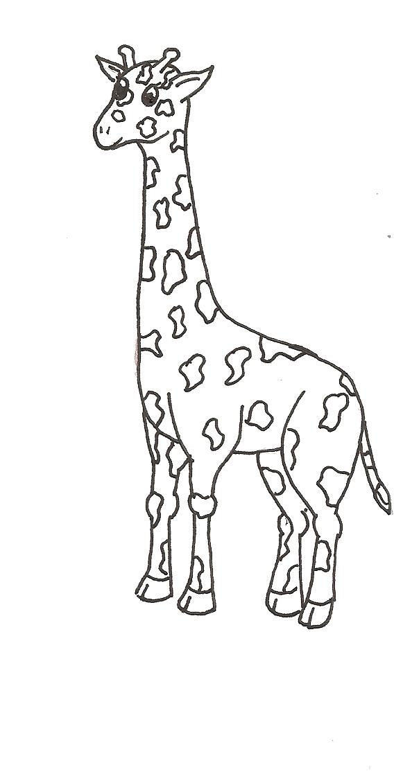 Line Drawing Giraffe : Giraffe line art by veranda on deviantart