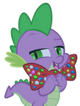 Spike with bowtie