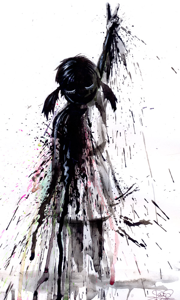 oil by lora-zombie