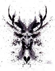 a deer by lora-zombie