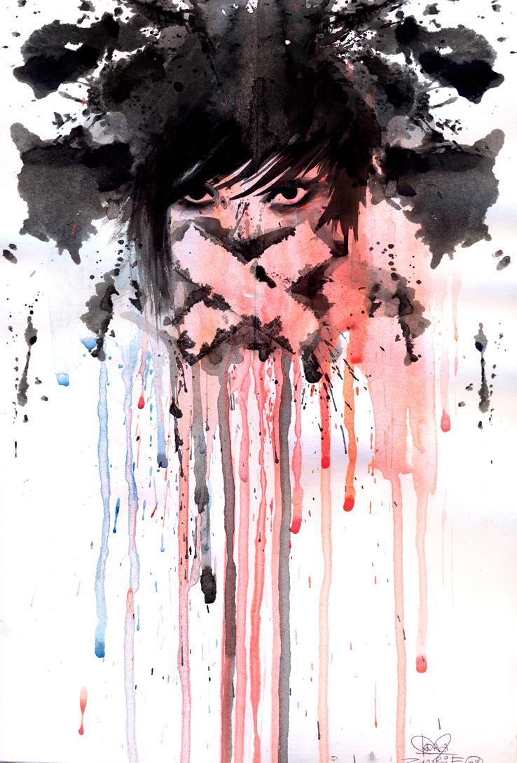 Seriously Cool Watercolor Painting