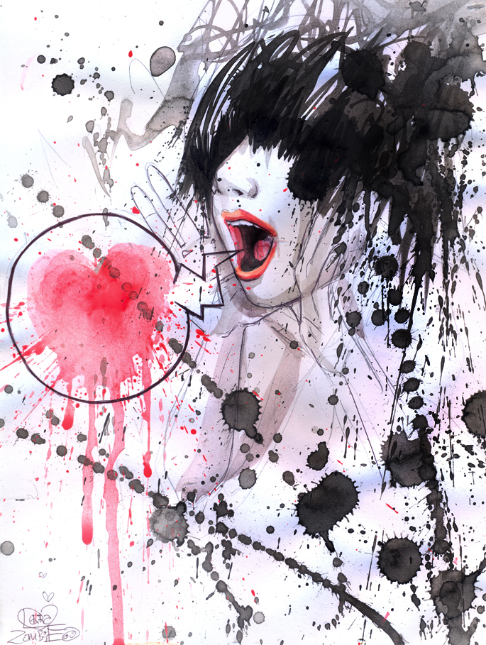 BLEED by lora-zombie