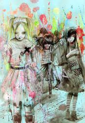 PLAN B:  the kingdom by lora-zombie