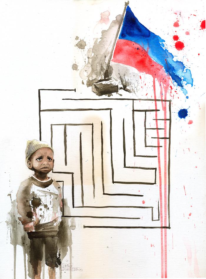 HAITI KID by lora-zombie