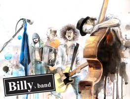 BILLY's band by lora-zombie
