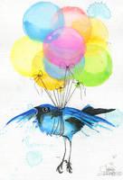 FLY BIRD by lora-zombie