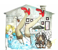 Mr. Rabbit by lora-zombie