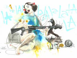 LA LA LA GIRL by lora-zombie