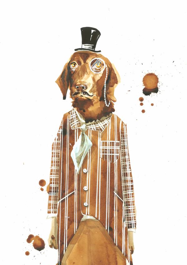 MR. BEnson by lora-zombie