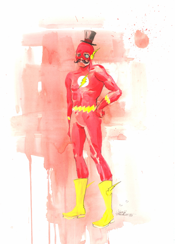MR. Flash by lora-zombie