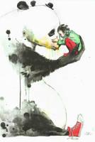 PANDA by lora-zombie