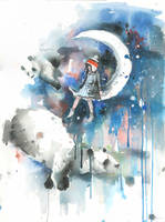 PANDA DREAMS by lora-zombie
