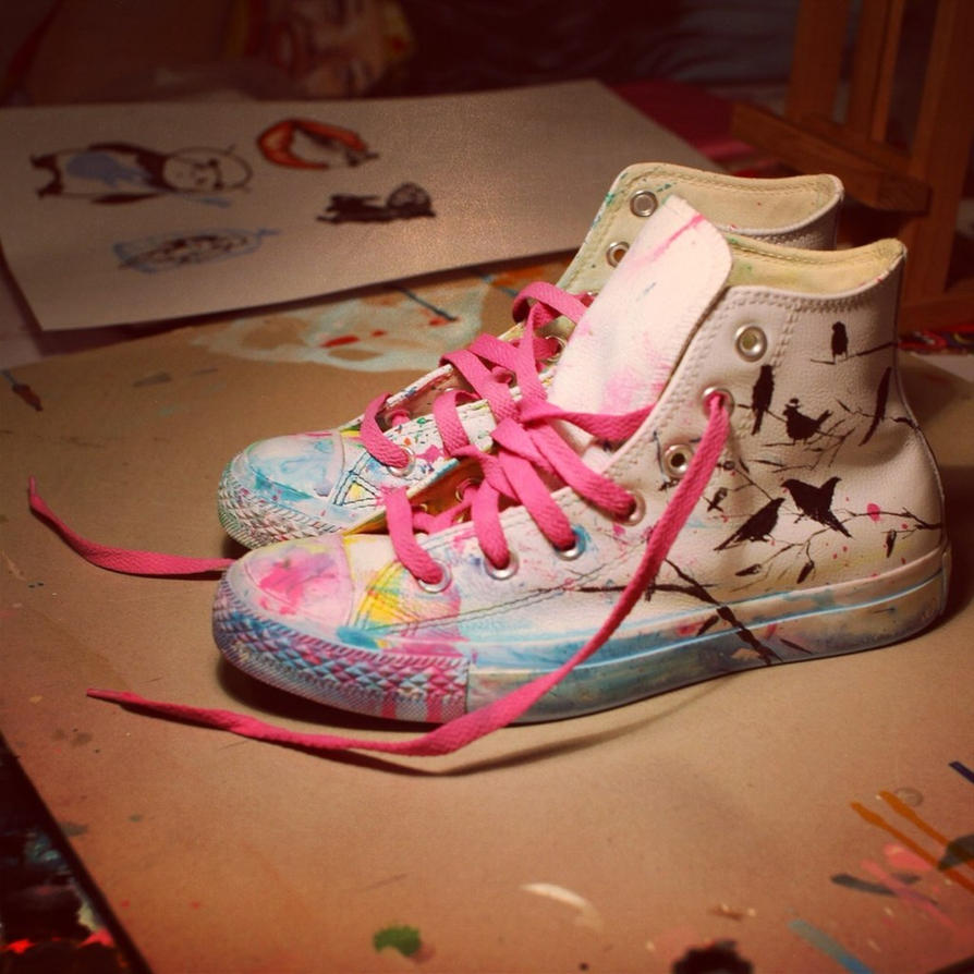 CONVERSE by LORA ZOMBIE by lora-zombie