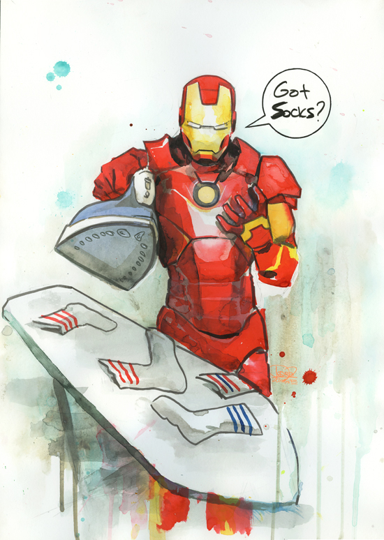 Ironman by lora-zombie