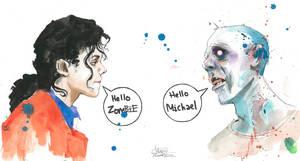 SKETCHBOOK DRAWING : Hello Zombie