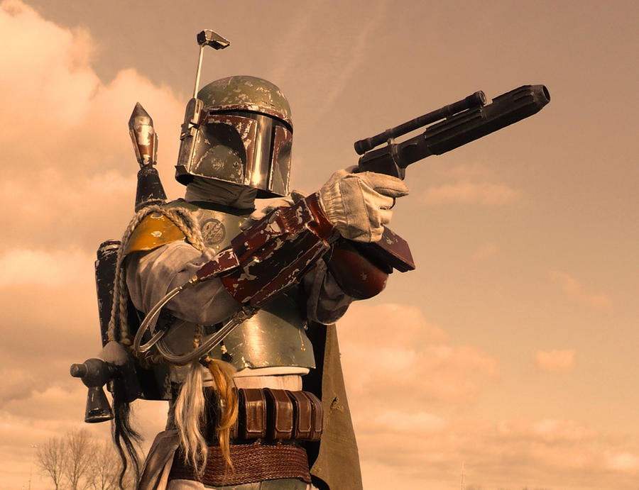 Star Wars - Boba Fett by RBF-productions-NL
