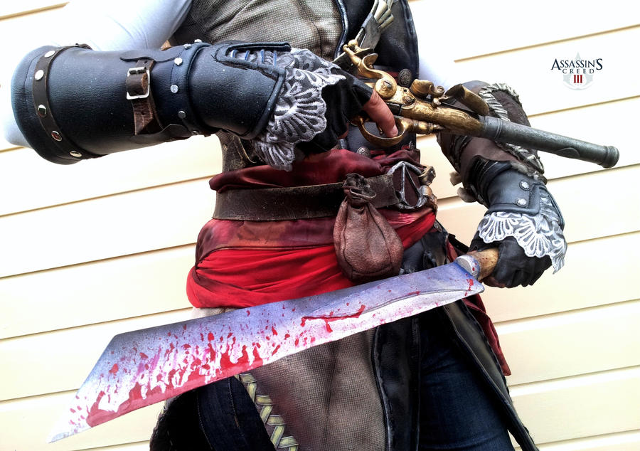 AC III - Aveline right gauntlet by RBF-productions-NL