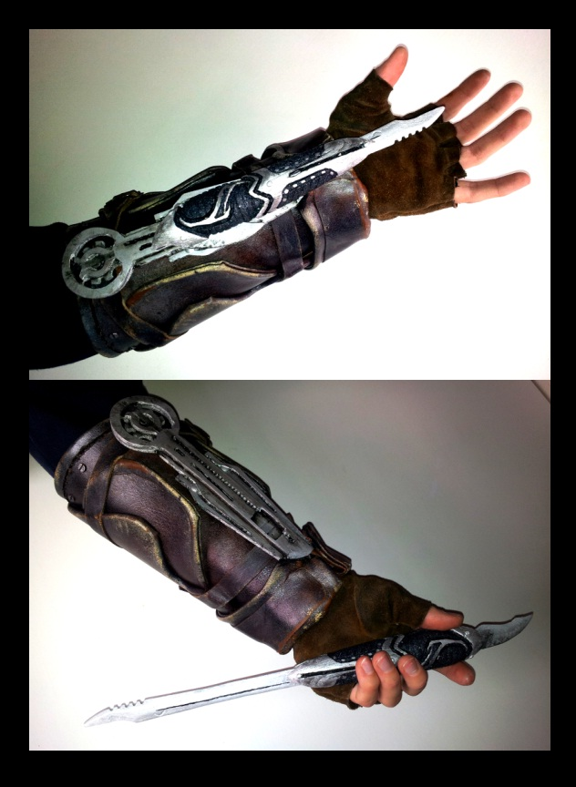 AC III - Connor's hidden-blade by RBF-productions-NL