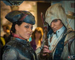 AC III - Connor and Aveline at F.A.C.T.S. 2012-1