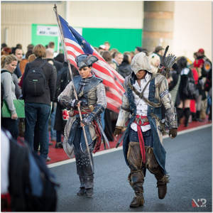 AC III - Connor and Aveline at F.A.C.T.S. 2012-2