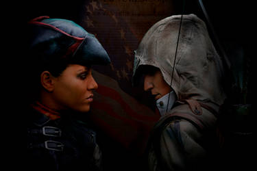 AC III - Connor and Aveline, final by RBF-productions-NL