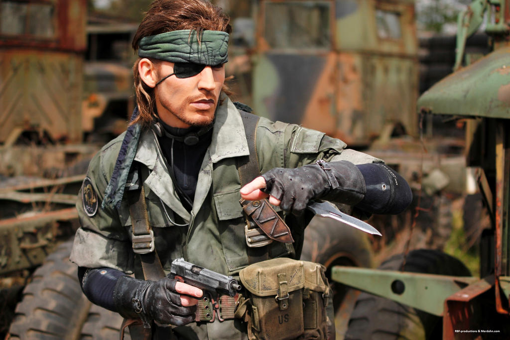 Metal Gear - Naked Snake by RBF-productions-NL