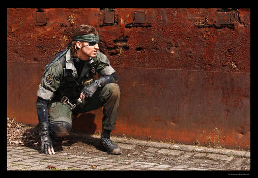 Metal Gear - Naked Snake Sneaking