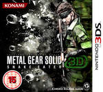 Metal Gear Solid 3D - Snake Eater (RBF on cover)