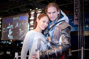 AC IV - Edward  at Firstlook 2013 - 2 by RBF-productions-NL