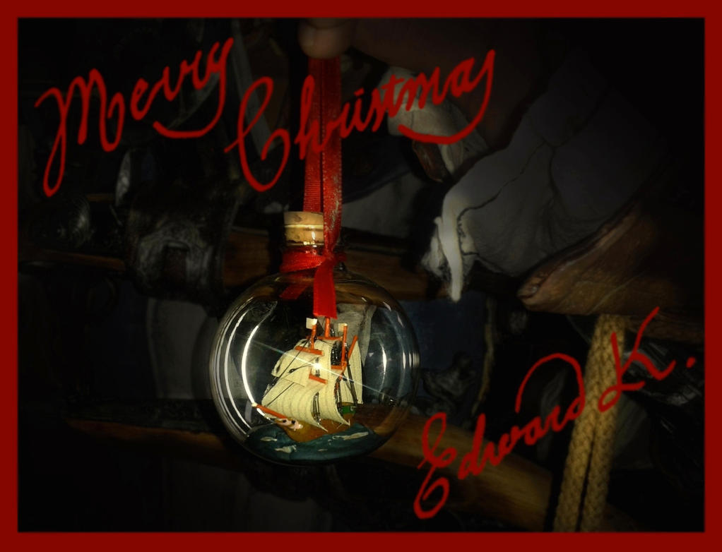 RBF and Edward Kenway wish you a merry X-mas! by RBF-productions-NL