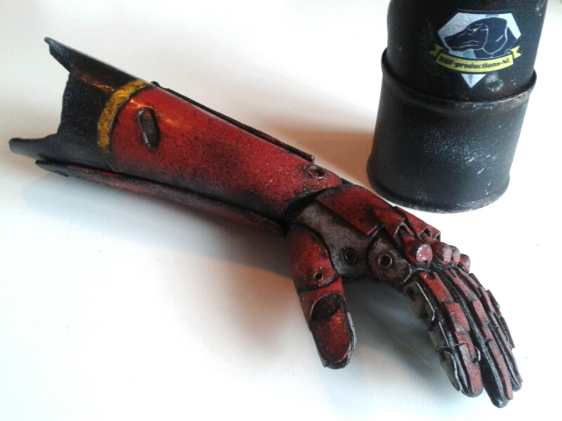 Punished Snake - bionic arm done! by RBF-productions-NL