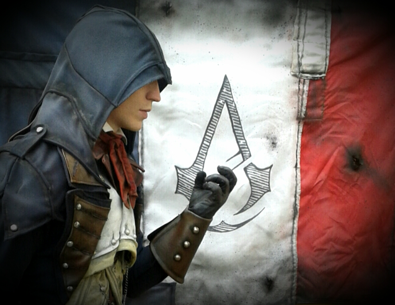 AC Unity - Arno costume WIP by RBF-productions-NL