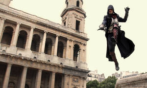 ACU - Jumping at Saint Sulpice... by RBF-productions-NL