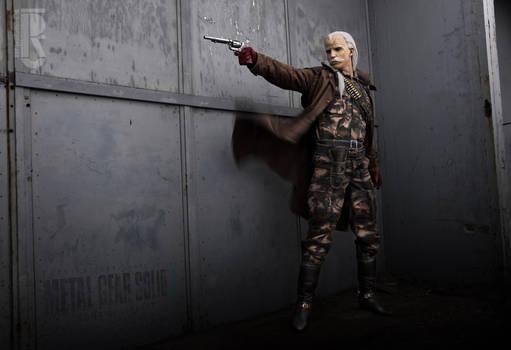 Metal Gear - Revolver Ocelot cosplay