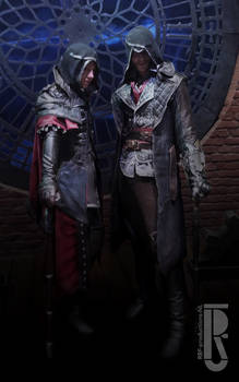 ACsyndicate Jacob and Evie Frye cosplay