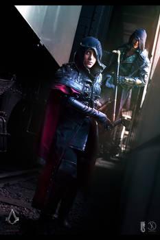ACsyndicate - Jacob and Evie Frye cosplay shoot