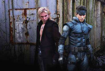 The Twin Snakes: Solid and Liquid Snake cosplay by RBF-productions-NL