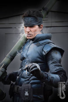 Solid Snake cosplay