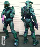 Halo - Master Chief cosplay by RBF by RBF-productions-NL