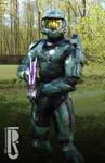 Halo 2 - Master Chief cosplay
